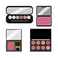 Colección de iconos cosméticos de mujeres