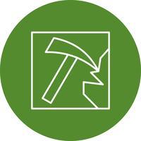 Vector icono de trabajo