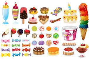Dessert-Sammlung