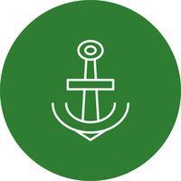 Icona di ancoraggio vettoriale