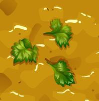 Schließen Sie herauf gelbe Kürbissuppe
