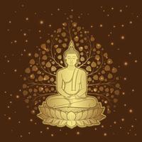 Thailändischer Kunstbuddhismusluxustempel und Hintergrundmuster