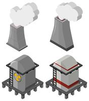 Fuel tanks and chimneys with smoke