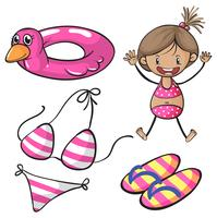 bikini vetor