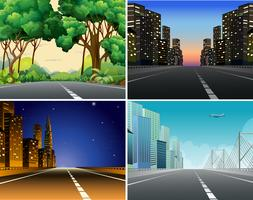 Road scène