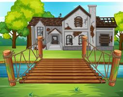 Altes Haus am Fluss