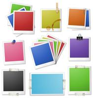 Different design of photo frames