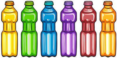 Farbe Flaschen