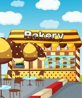 A bakery store