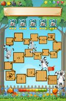 Game template with lemur in garden