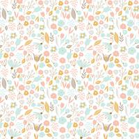 Nice floral seamless pattern