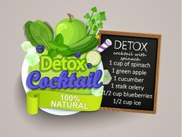 Detoxcocktail med recept.