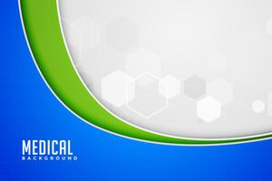 medical background in wave style