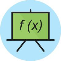 Formula line filled icon