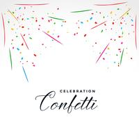 confetti explosion party celebration background