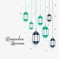 hanging lamps decoration for ramadan kareem
