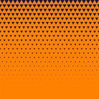 apelsinbakgrund med mörkblå triangelhalvton