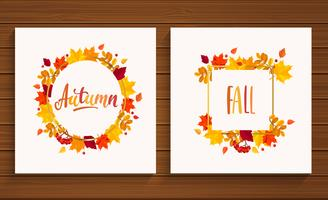 Autumn and Fall cards.