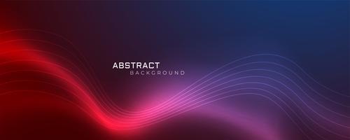 futuristisk glänsande vågig abstrakt bakgrund