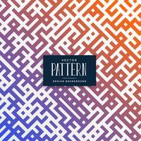 abstracte fractal truchet patroon achtergrond
