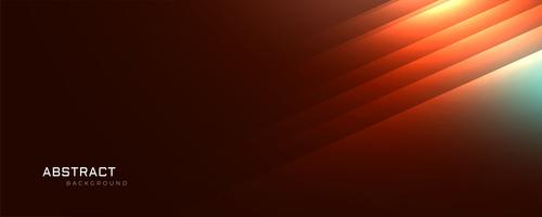 orange glowing lines abstract background