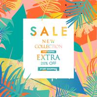 Sale website banner. Sale tag