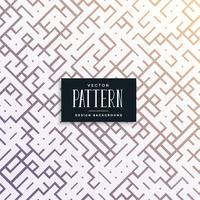 abstracte puzzel stijl lijn truchet patroon