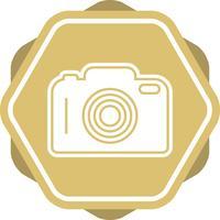 Camera Glyph Multi color Background icon vector