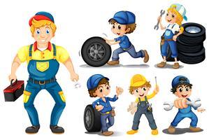 Mechaniker eingestellt