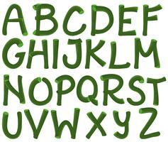 Alphabet vert