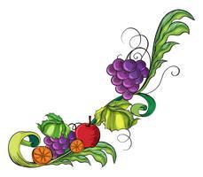 Een fruitige rand