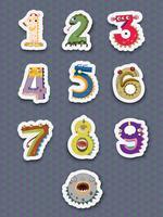 Antal klistermärken