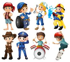 Trabajos para niños