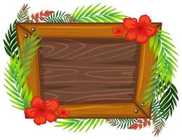 A beautiful wooden frame