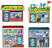 Conjunto de tiendas