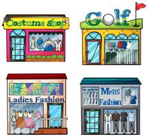 Set di negozi