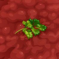 En Närbild Tomatsås