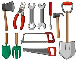 Different types of hand tools