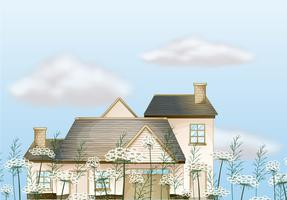Une grande maison