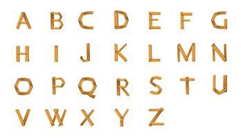 alfabetten vector