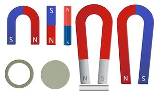 magnet set vector