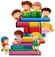 Children with the book