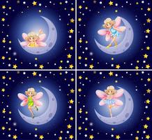 Scenes with fairy and stars