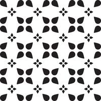 Universal  black and white seamless pattern tiling