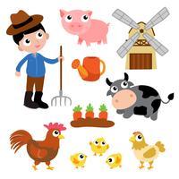 farm vector design