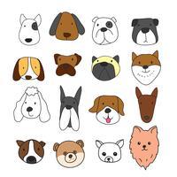Hundekritzelvektor, Charakterdesign