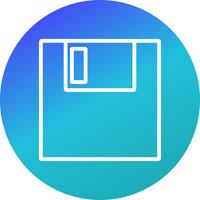 Icône Vector Save