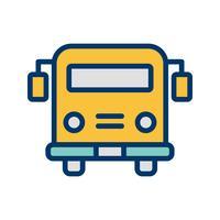 Vektor skolbuss ikon
