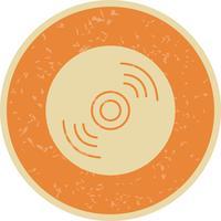 Illustration vectorielle de disque compact icône
