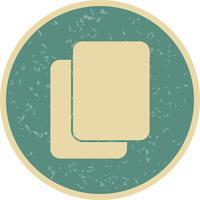 Copier l'icône Vector Illustration